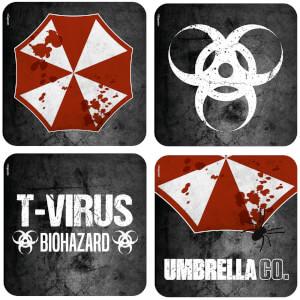 Resident Evil Lenticular Coaster Set