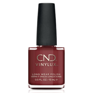 CND Vinylux Oxblood Nail Varnish 15ml
