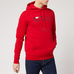 Tommy Hilfiger Men's Overhead Hoodie - Primary Red