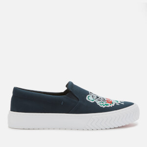 KENZO Women's K-Skate Slip-On Trainers - Navy