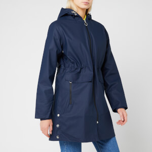 Superdry Women's Hydrotech Mac - Richest Navy