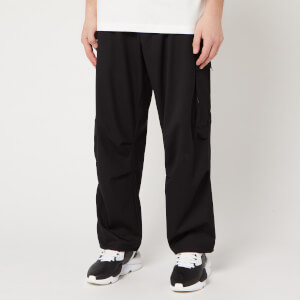 Y-3 Men's Classic Ref Wool Cargo Pants - Black