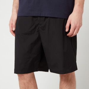 Y-3 Men's Travel Stretch Nylon Shorts - Black