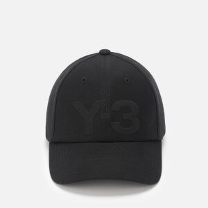 Y-3 Men's Logo Cap - Black