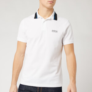 Barbour International Men's Dial Polo Shirt - White