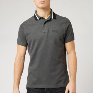 Barbour International Men's Diode Polo Shirt - Gargoyle