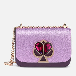 Kate Spade New York Women's Nicola Glitter Twistlock Bag - Candied Lilac