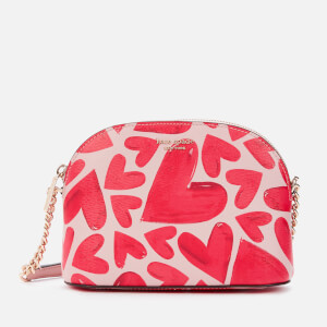 Kate Spade New York Women's Spencer Ever Fallen Small Dome Cross Body Bag - Tutu Pink