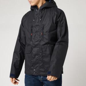 Barbour Storm Force Men's Doridge Wax Jacket - Navy