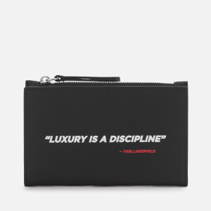 Karl Lagerfeld Legend Collection Women's Karl Legend Cardholder - Black