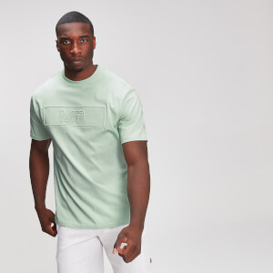 MP Graphic Men's Embossed T-Shirt - Mint