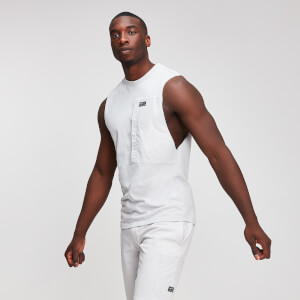MP Utility Men's Drop Armhole Tank Top - Chrome