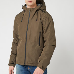 Superdry Men's Padded Elite Jacket - Deep Olive