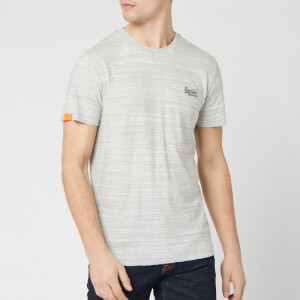 Superdry Men's Orange Label Vintage Embroidery T-Shirt - Desert Grey Space Dye