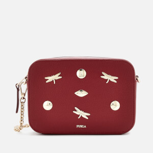 Furla Women's Brava Zaffiro Mini Cross Body Bag - Red
