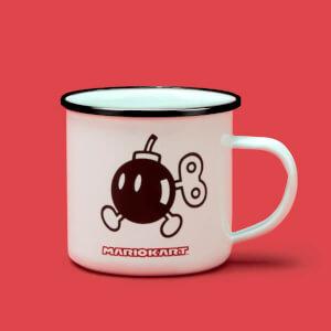 Mug Émaillée Bob-Omb - Blanc