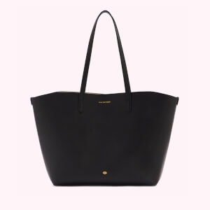 Lulu Guinness Women's Crossgrain Ivy Tote Bag - Black