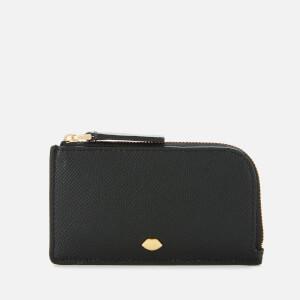 Lulu Guinness Women's Lip Pin Leah Wallet - Black