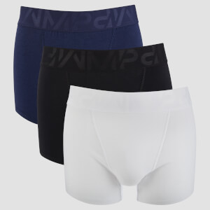 MP Men's Sport 3 Pack Boxers - Black/White/Navy