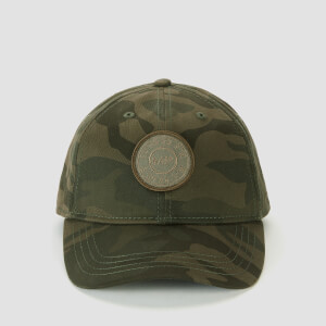 MP Badge Logo Baseball Cap - Camo