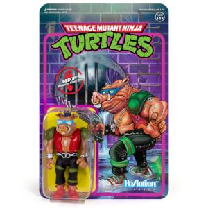 Super7 Teenage Mutant Ninja Turtles ReAction Figure - Bebop