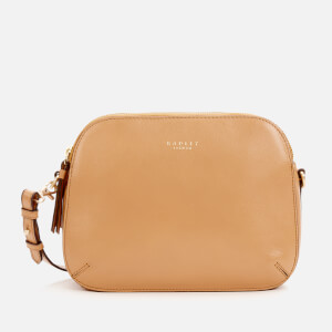 Radley Women's Dukes Place Medium Ziptop Cross Body Bag - Dark Butter