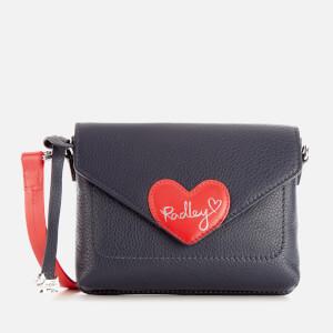 Radley Women's I Love You Mini Flapover Cross Body Bag - Ink