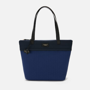 Radley Women's Penton Mews Colour Block Large Ziptop Tote Bag - Sapphire