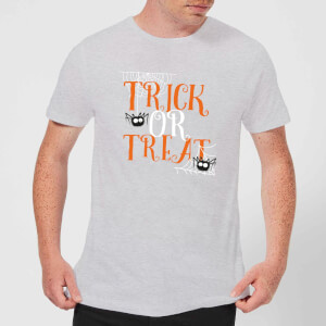 Trick Or Treat Men's T-Shirt - Grey