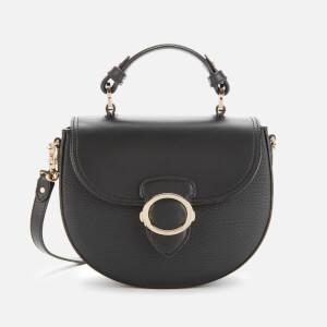 Aspinal of London Women's Saddle Bag - Black