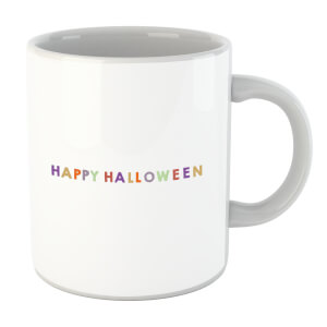 Colourful Happy Halloween Mug