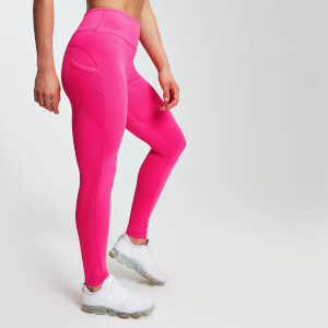 MP Women's Power Mesh Leggings - Super Pink