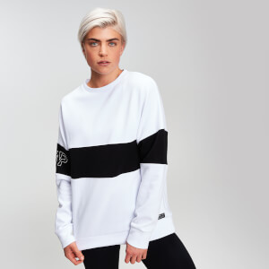 MP Power Women's Colour Block Sweatshirt - White