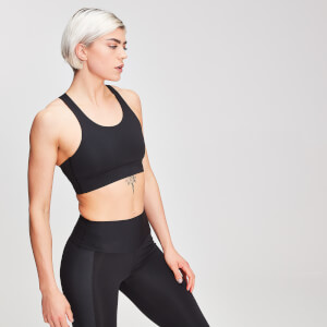 MP Sculpt Damen Sport-BH - Schwarz