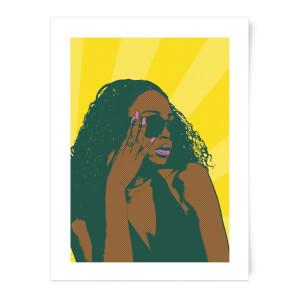 Summer Vibes Pop Inspired Print Art Print