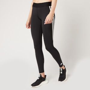 adidas Women's Ask 3 Stripe Tights - Black