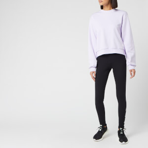 adidas Women's St Crew Neck Sweatshirt - Purple Tint