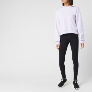 adidas Women's St Crew Neck Sweatshirt - Purple Tint