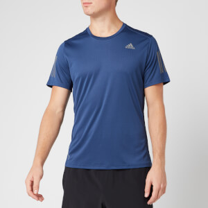 adidas Men's Own the Run Short Sleeve T-Shirt - Tech Indigo