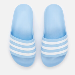 adidas Women's Adilette Aqua Slide Sandals - Glow Blue