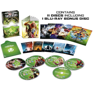 Marvel Studios Collector's Edition Box Set – Phase 3 Part 1 - 4K Ultra HD