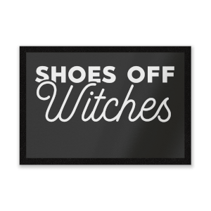 Shoes Off Witches Entrance Mat