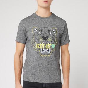 KENZO Men's Tiger Single T-Shirt - Anthracite