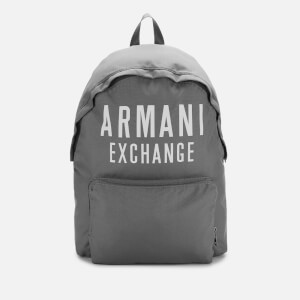 Armani Exchange Men's Backpack - Grey