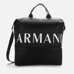 Armani Exchange Men's Duffle Bag - Nero