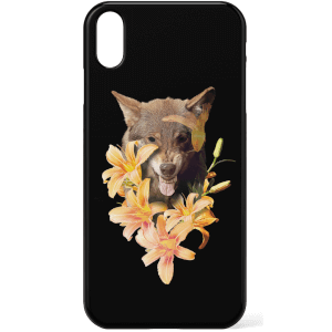 Wolfish Flowers Phone Case for iPhone and Android