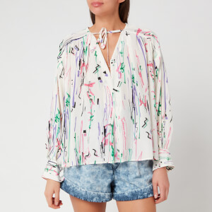 Isabel Marant Women's Amba Top - Ecru