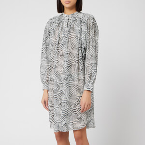 Isabel Marant Women's Erika Dress - Ecru/Black