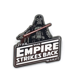 Star Wars Augmented Reality Pin Badge Collectable - The Empire Strikes Back
