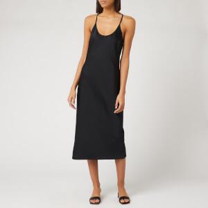 Alexander Wang Women's Light Wash and Go Racerback Dress - Black